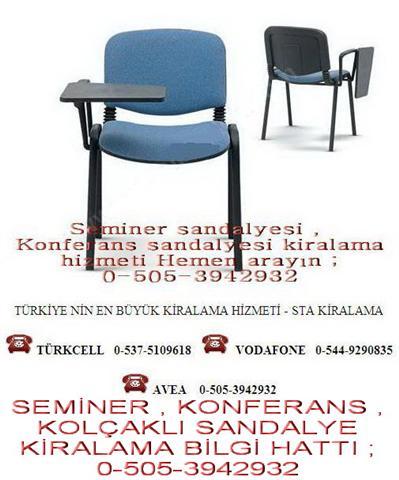 seminer konferans sandalyesi kiralama